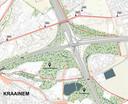 In Sint-Stevens-Woluwe zal de verkeerswisselaar compacter gemaakt worden. Dit kaartje is het voorbeeld van de parallelstructuur.