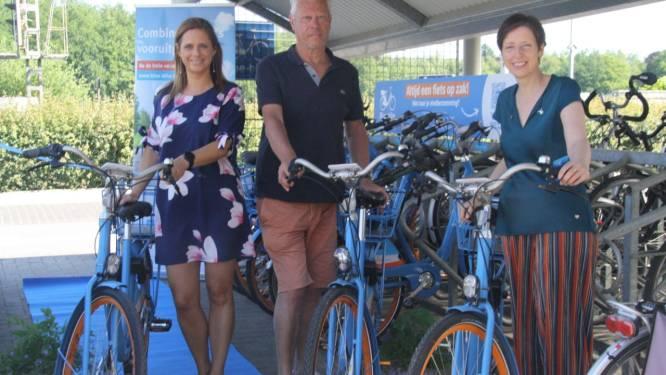 """Slimme Blue Bikes aan station Bouwel primeur voor Kempen: """"Alternatief voor de pendelaar nu er geen busverbinding meer is met Grobbendonk"""""""