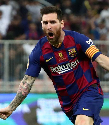 Messi zwijgt niet langer: 'Ik blijf, want ik wil niet in gevecht met Barcelona'