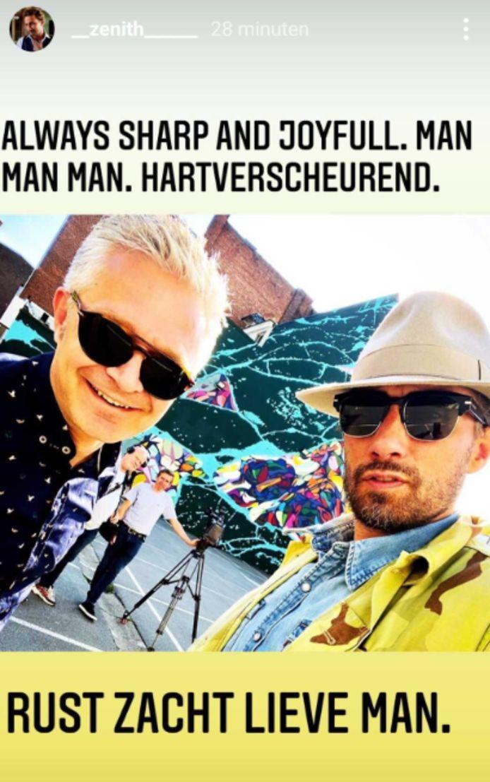 Matthias Schoenaerts en Ward Verrijcken.