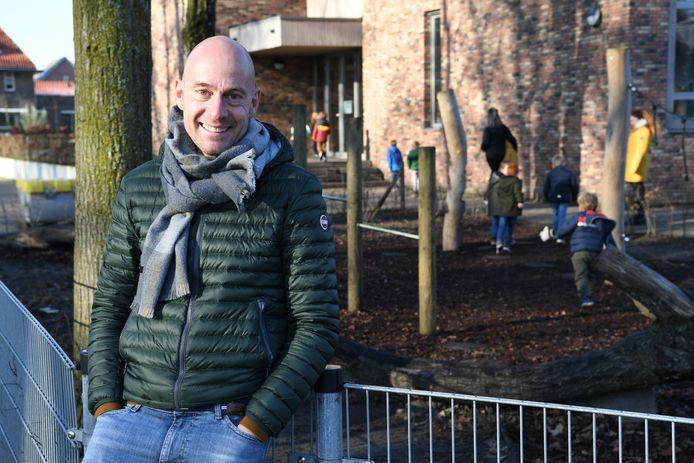 Jan-Piet Kruijs is bezig aan zijn eerste maanden als directeur van BS De Vonder in Riel.