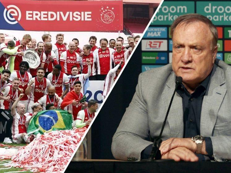 Geen erehaag voor Ajax: 'Feliciteren en hand geven, niet meer dan dat'