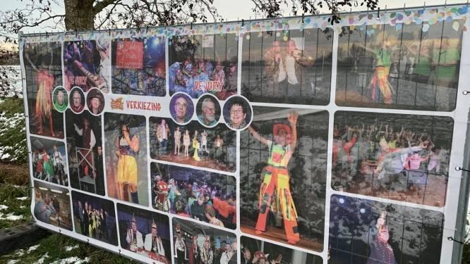 Stunt of diefstal? Onbekenden aan de haal met carnavalsbanner prinsenverkiezing