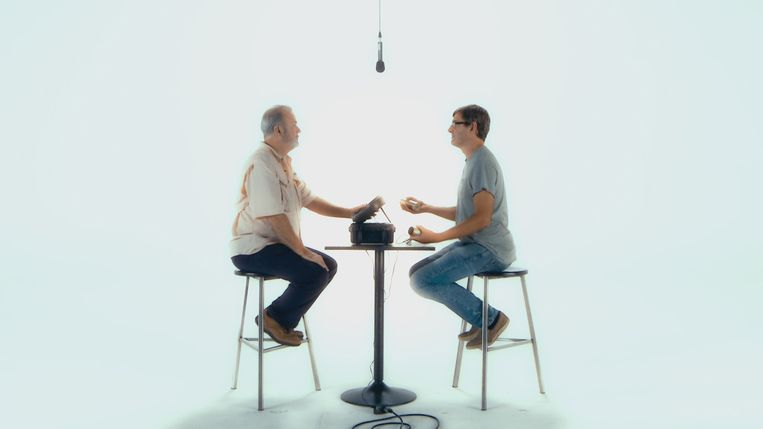 Louis Theroux en Marty Rathburn Beeld BBC/BBC Worldwide