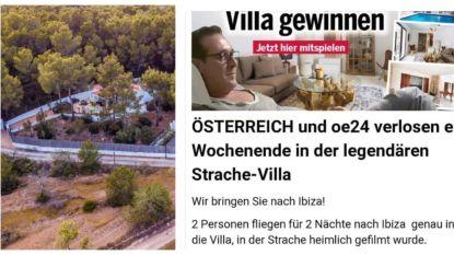 Een weekendje doorbrengen in de villa op Ibiza waar Strache in de verborgencameraval liep? Dat kan.