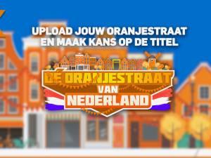Woon jij in Dé Oranjestraat van Nederland? Doe mee met onze verkiezing en win!