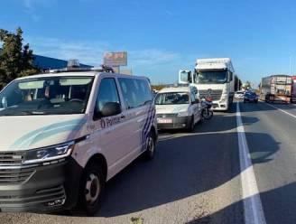 Controles over de grenzen van de politiezones heen: tiental truckers loopt tegen de lamp