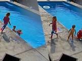 Zusjes redden kleine broer van verdrinking