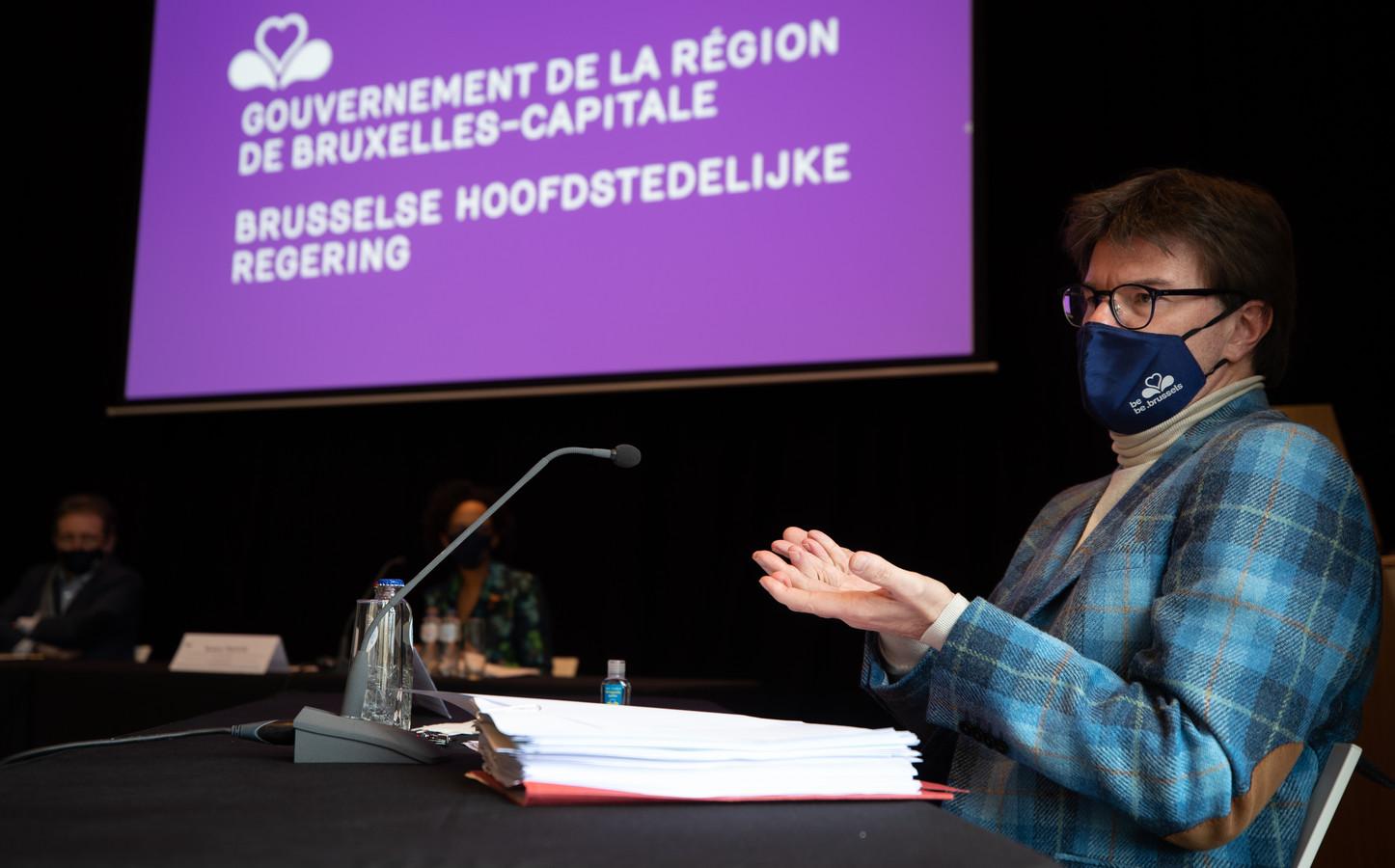 Brussels minister van Begroting Sven Gatz (Open Vld).