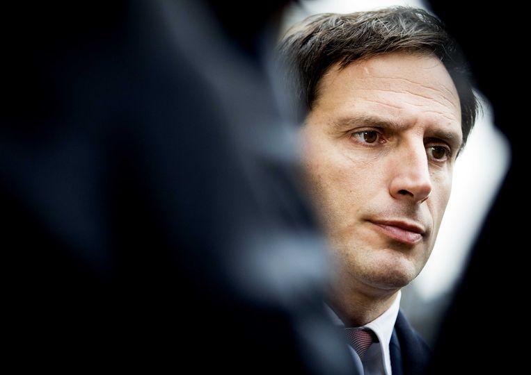 Wopke Hoekstra, minister van Financiën.  Beeld ANP - Koen van Weel