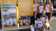 Beklimming van Mont Ventoux levert 4.193 euro op voor vzw Beyond the Moon