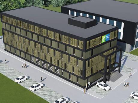 Nieuw hotel met 99 kamers langs A1 in Deventer: Holiday Inn Express & Suites