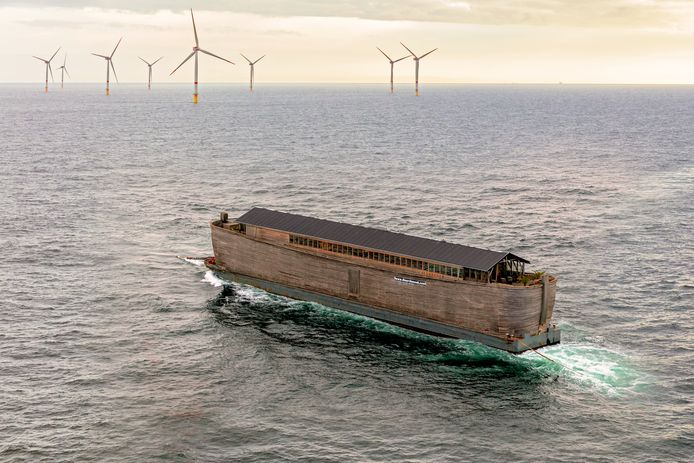 De 'Verhalenark' komt terug naar Sliedrecht, waar het vaartuig ooit werd gebouwd.