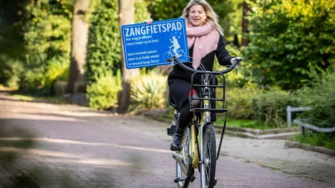 Op dit fietspad kunnen Oldenzalers straks zingen zonder schroom