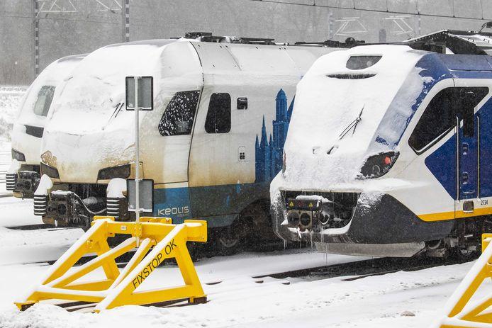 Vanwege het uitzonderlijke winterweer, rijdt de intercity tussen Zwolle en Enschede niet tot 09.30 uur.