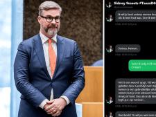 Opstappen D66-Kamerlid Sidney Smeets was onvermijdelijk: 'Zijn reactie is dom en immoreel'