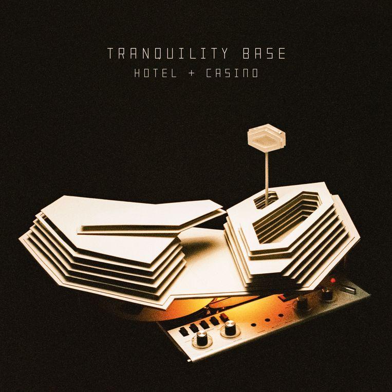 'Tranquility Base Hotel & Casino' van Arctic Monkeys verschijnt op 11/5 bij Domino.   Beeld rv