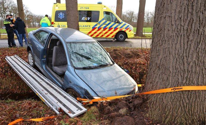 Ongeval in Heeswijk-Dinther.