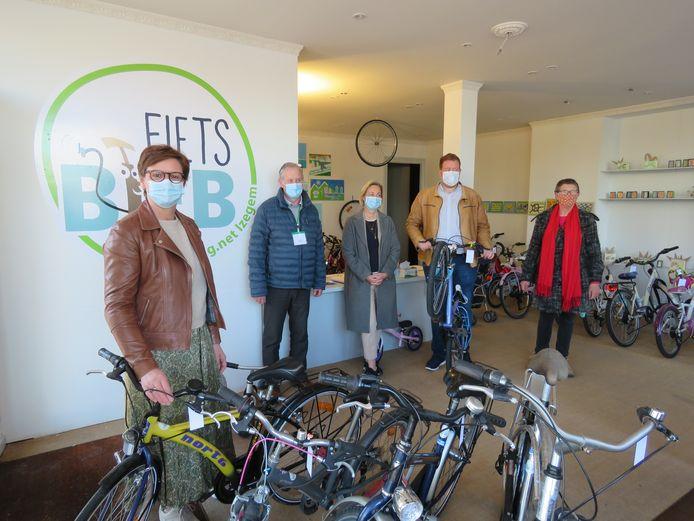 Opening fietsbib Izegem