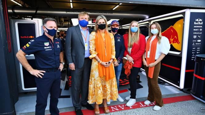 Koning en koningin vieren zege van Verstappen: 'Nederland heeft zich van zijn beste kant laten zien'
