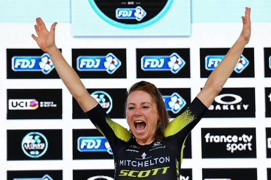 Annemiek van Vleuten, afgelopen twee jaar de winnares van La Course.