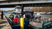Nieuwe route slaat niet aan: Waterbus over Albertkanaal wordt gratis tijdens spitsuren