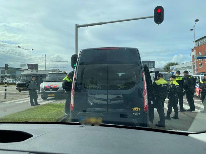 Activisten van de weg geplukt voordat ze bij Den Haag aankwamen.