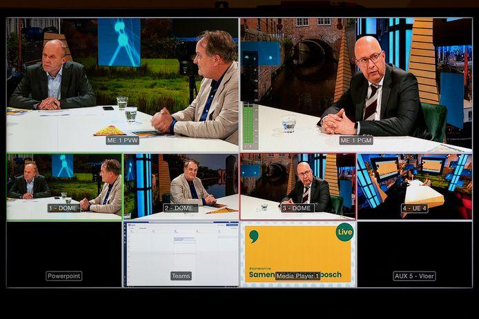 Samen 's-Hertogenbosch was woensdag het eerste programma van de gemeente