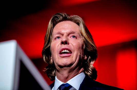 Feyenoord-directeur Jan de Jong.
