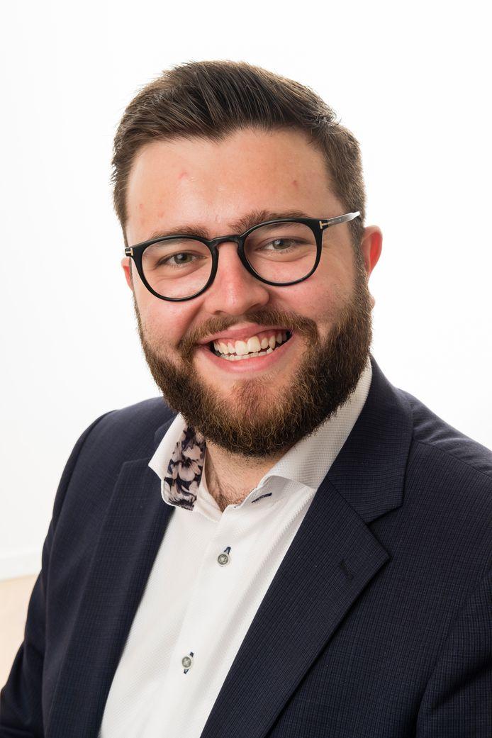 Gemeenteraadslid Bram Meeuw.