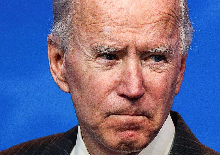 Democraat Joe Biden won tijdens de presidentsverkiezingen 306 kiesmannen en zijn Republikeinse tegenstrever Donald  Trump 232.  Beeld REUTERS