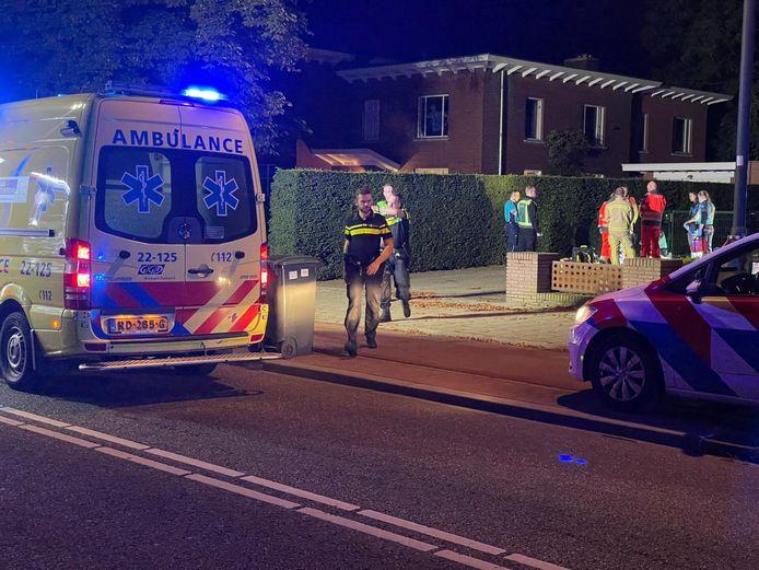 Een gewonde man overleed op straat nadat hij uit het ziekenhuis was weggelopen.