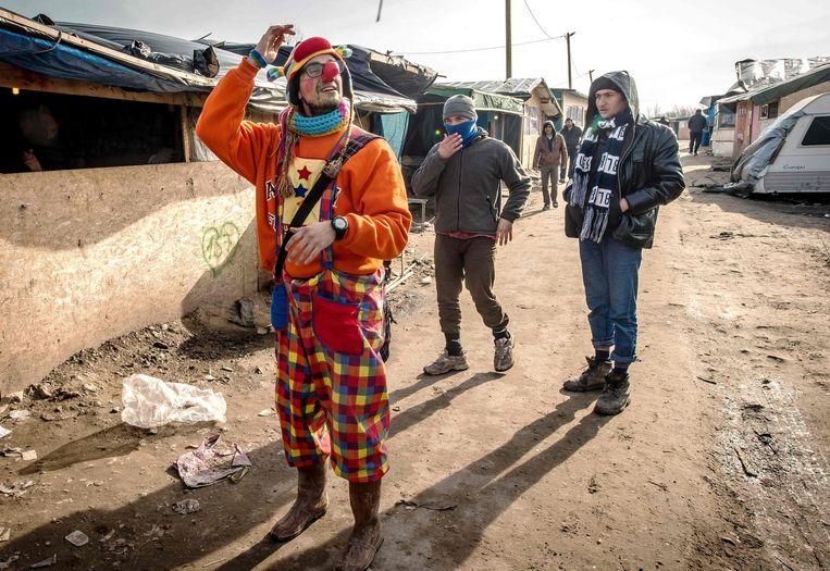 Calais, Frankrijk. Beeld Lefteris Pitarakis / AP