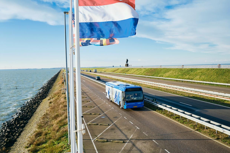 De Afsluitdijk. Beeld Sjaak Verboom