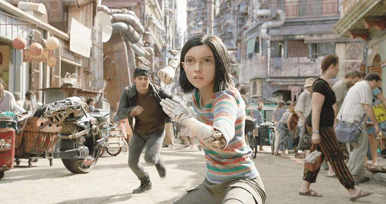 Alita uit z'n nieuwste film is een cyborg met bijzondere krachten.