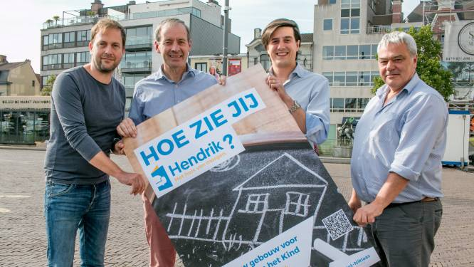"""Stad laat burgers woordje meepraten over 'Hendrik', de nieuwe bibliotheek: """"Het wordt de parel van het Hendrik Heymanplein"""""""