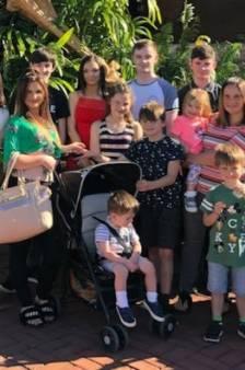 Sue (44) zwanger van 22ste kind: 'We hadden gezworen dat we zouden stoppen'