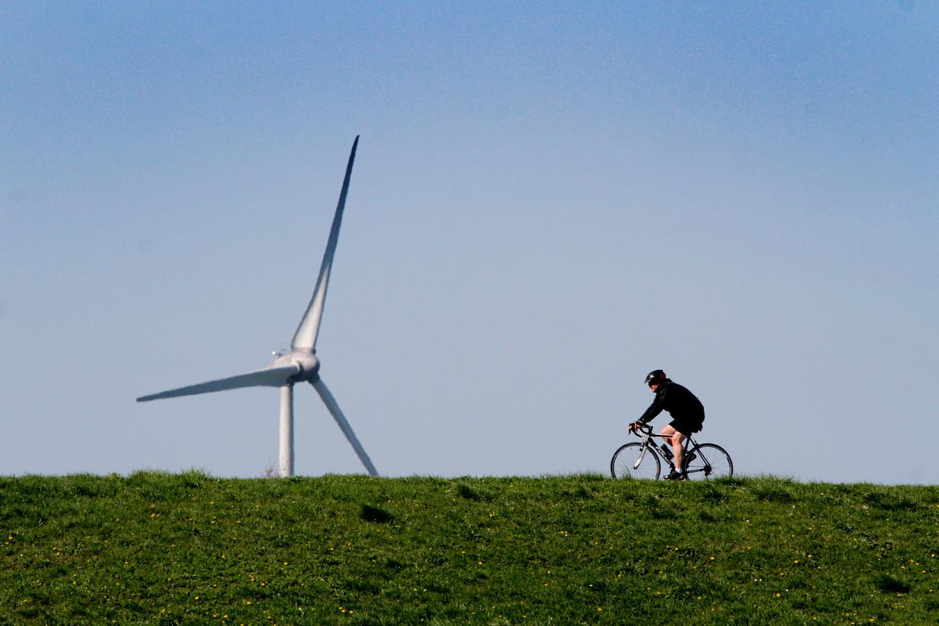 Tijdens de webinar wordt verteld waarom onder meer bij bedrijventerrein Avelingen naar windenergie wordt gekeken. Foto ter illustratie.