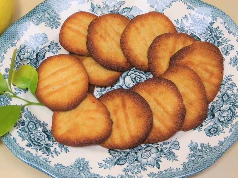 Amandel-citroenkoekjes Beeld Loethe Olthuis