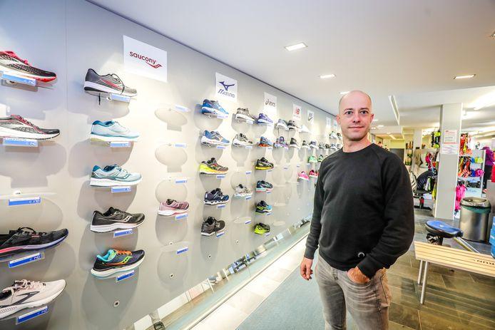 Davy Vandekerckhove is de nieuwe uitbater van het Running Center.