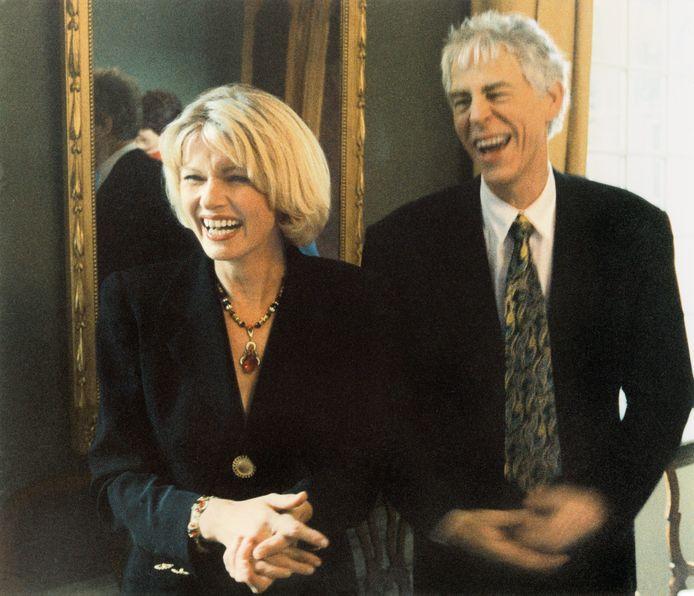 Martine Bijl en Berend op hun trouwdag september 1992