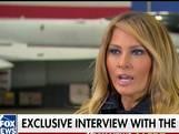 Melania Trump: mijn man doet het geweldig