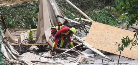 Nederlands gezin op overstroomde Franse camping: 'Kalm gebleven voor de kinderen'
