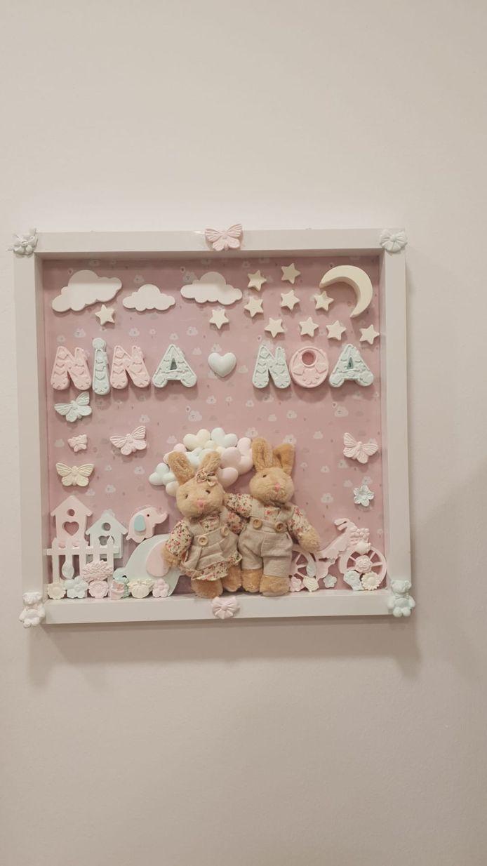 Decoratie voor in de babykamer