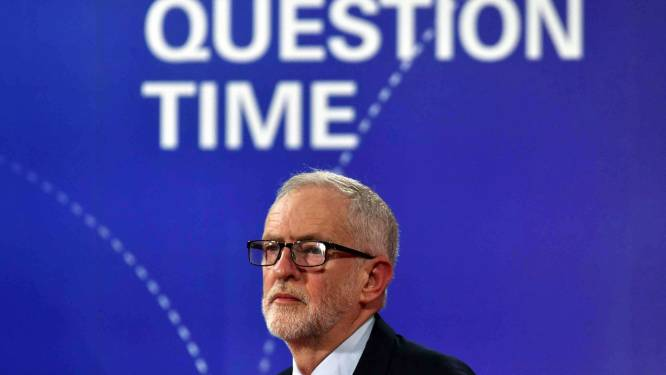 """Oppositieleider Corbyn belooft """"neutraal"""" te blijven bij nieuw referendum over brexit en/of -akkoord"""