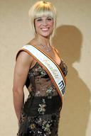 Jess tijdens Miss Belgium Globe in 2008.