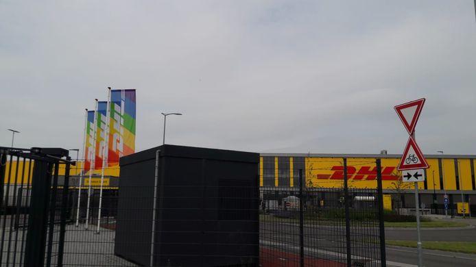 DHL in Zaltbommel.