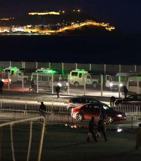 1.600 migrants tentent une entrée dans l'enclave de Ceuta