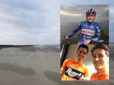 Zeeuwse profrenners fietsen in StrandRide for the Roses