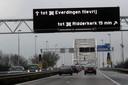 De A27 bij Gorinchem.